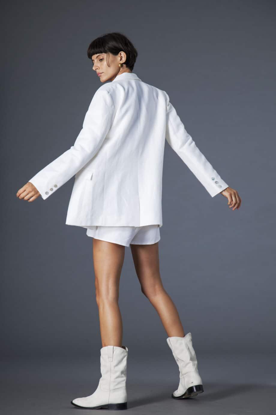 Isabel Jacket White