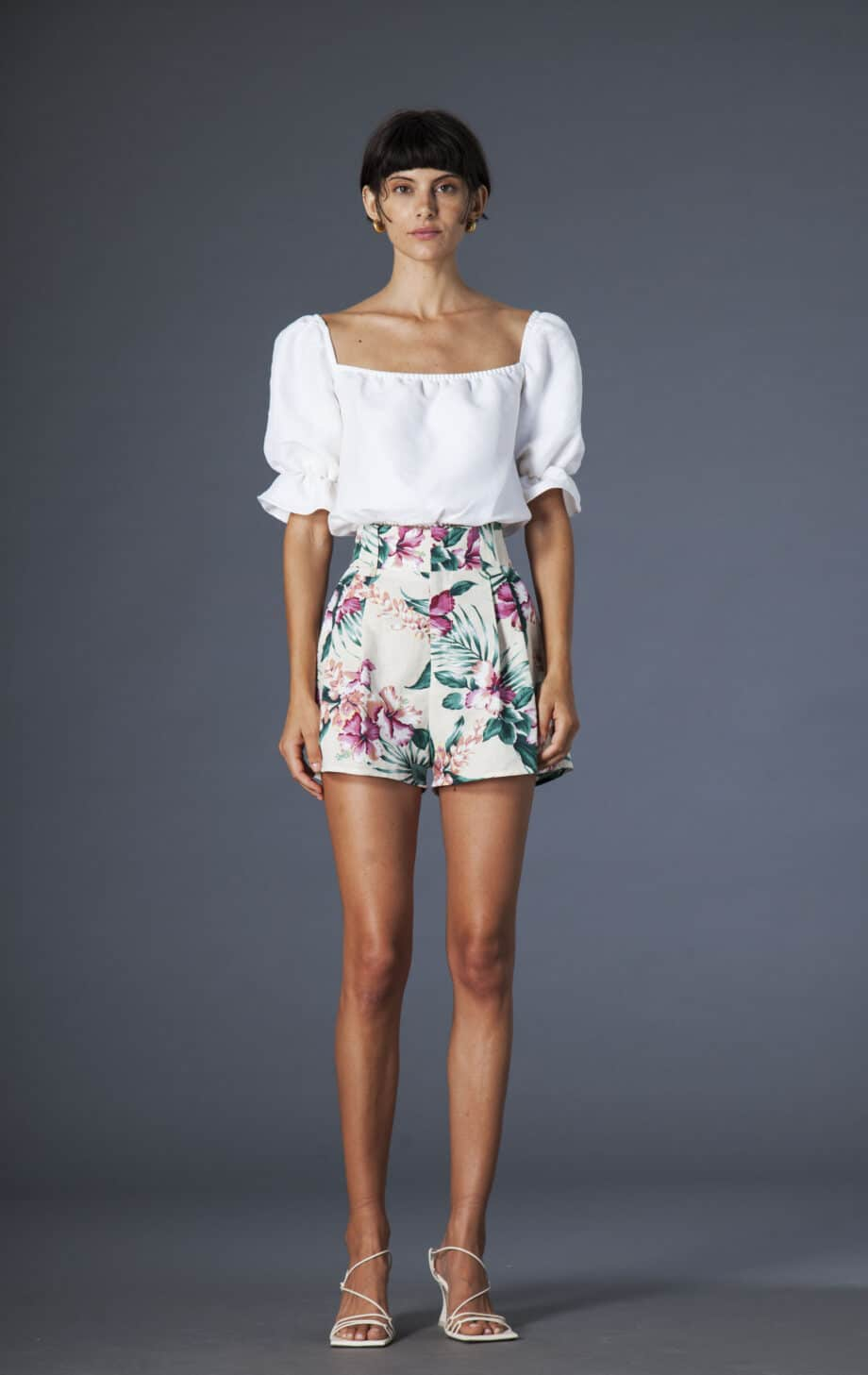 Gilda shorts flowers