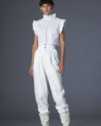 Gilda pants white denim