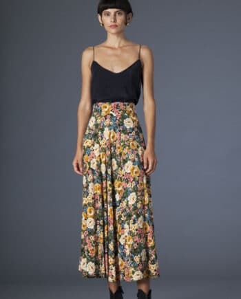 Gina Skirt Flowers
