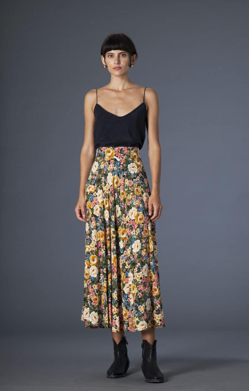 Gina Skirt Flowers