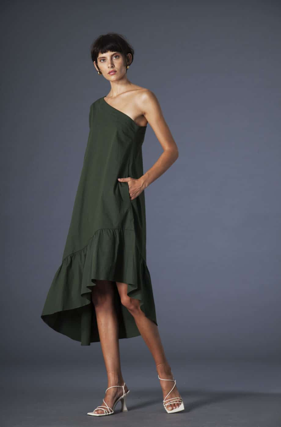 Karen Dress Green