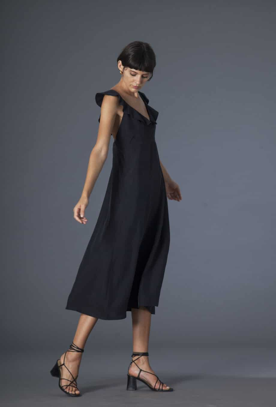 Niki dress silk